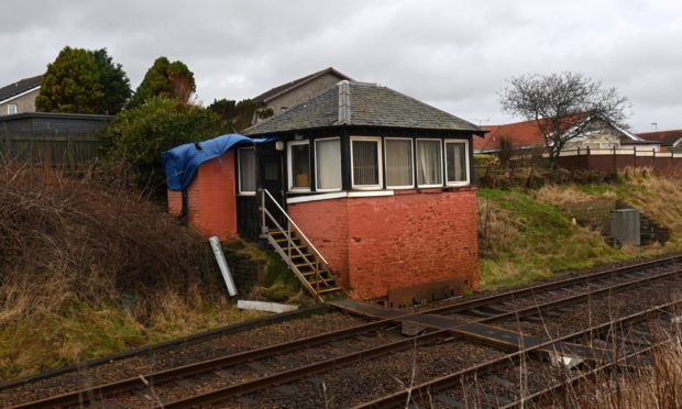 The Newtonhill signal box is to begin being demolished today.