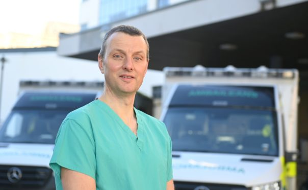Sean Berryman returned to nursing to help the fight against Covid.