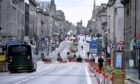 Aberdeen is currently under Covid-19 restrictions - but the route out of lockdown has been revealed.