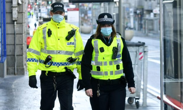 Eight people have been issued fixed penalty notices in the past week, according to Police Scotland data.
