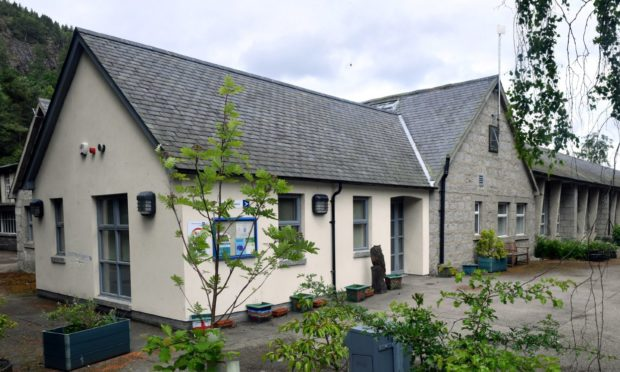 The nursery is based at Ballater Primary School.