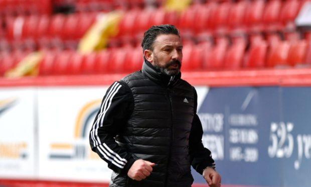 Dons boss Derek McInnes saw his side draw 0-0 with St Mirren.