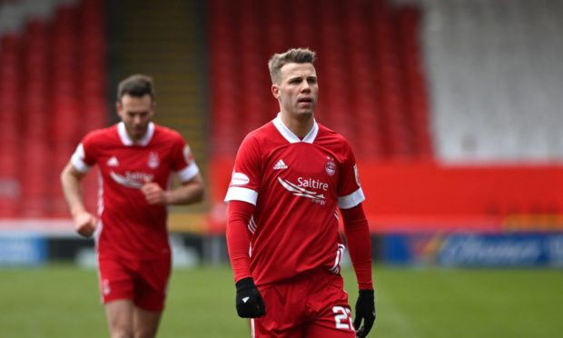 Aberdeen's Florian Kamberi.