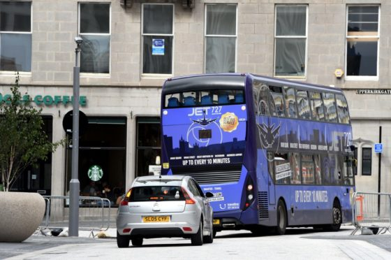 The bus lane on Broad Street brought in more than £122,000 in fines in 2019.