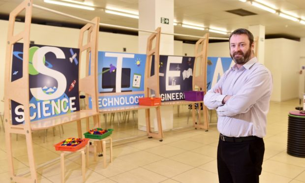 Bryan Snelling, chief executive of Aberdeen Science Centre.  Picture by Scott Baxter    17/01/2020