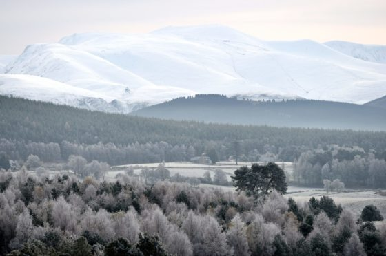 The north and north-east is set for several day of frosty weather