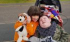 Mollie and Rory Jamieson, who have been supported by Charlie House despite lockdown.