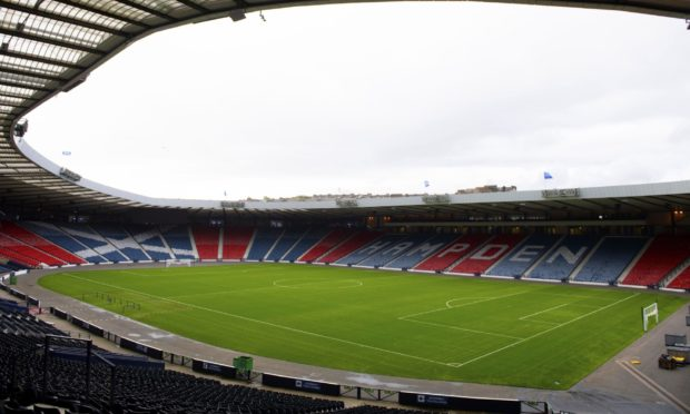 Hampden Park, one of 12 host venues for the European Championships.