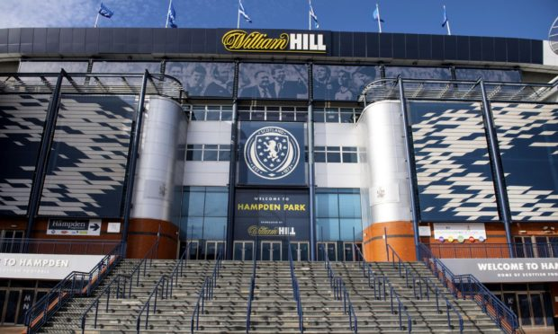 Hampden Park, home of the SPFL.