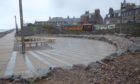 A section of the boardwalk project in Stonehaven has been completed.