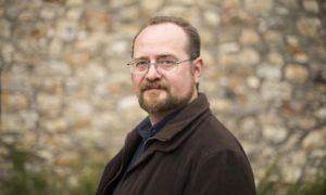 """Stuart MacBride is proud to be ambassador for the """"stonking"""" Granite Noir crime-writing festival."""