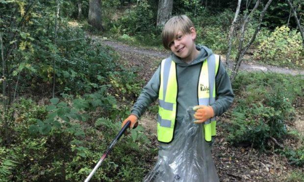 10-year-old Thomas Truby