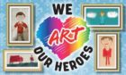 Mel Shand backs We Art Heroes.