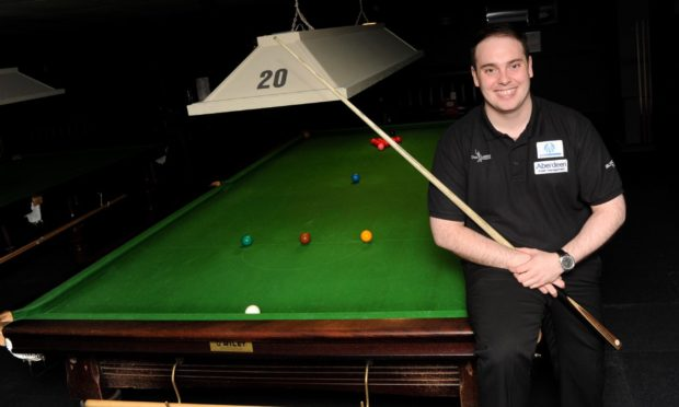 Aberdeen's Marc Davis has been close to qualifying for the World Snooker Tour.