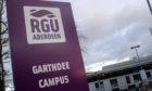 RGU's Garthdee Campus in Aberdeen.