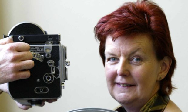Janet McBain, former curator of the Scottish Screen Archive