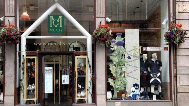 The McCalls store on Bridge Street, Aberdeen.