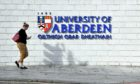 The University of Aberdeen.