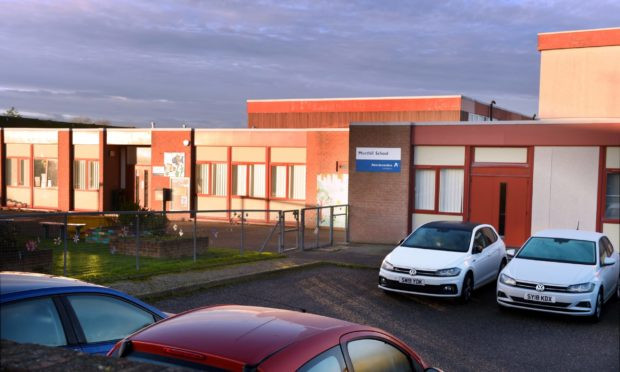 Meethill School, pictured, and Dales Park School, are proposed to be merged and moved to the Peterhead Community Campus.