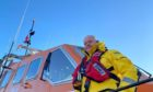 To go with story by Craig Munro. Peterhead RNLI coxswain Peter Davidson has given a gripping account of the rescue mission that saved five lives on February 5 Picture shows; RNLI Peterhead coxswain Patrick Davidson. Peterhead . Supplied by RNLI Date; 22/12/2020
