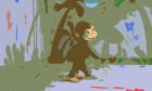 Remember Curious George's tail? Which is surprising, since he never had one.