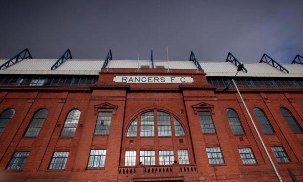 Ibrox Stadium, home of Rangers Football Club.