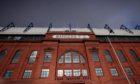 Ibrox Stadium, home of Rangers FC.