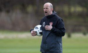 Interim Aberdeen boss Paul Sheerin insists he will not make radical changes to Derek McInnes blueprint