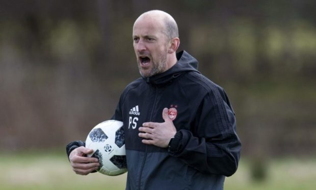 Paul Sheerin is raring to go after departing the Dons for the Falkirk head coach job