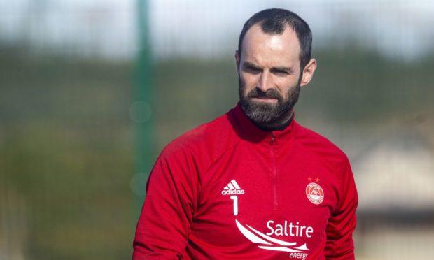 Aberdeen keeper, and captain, Joe Lewis