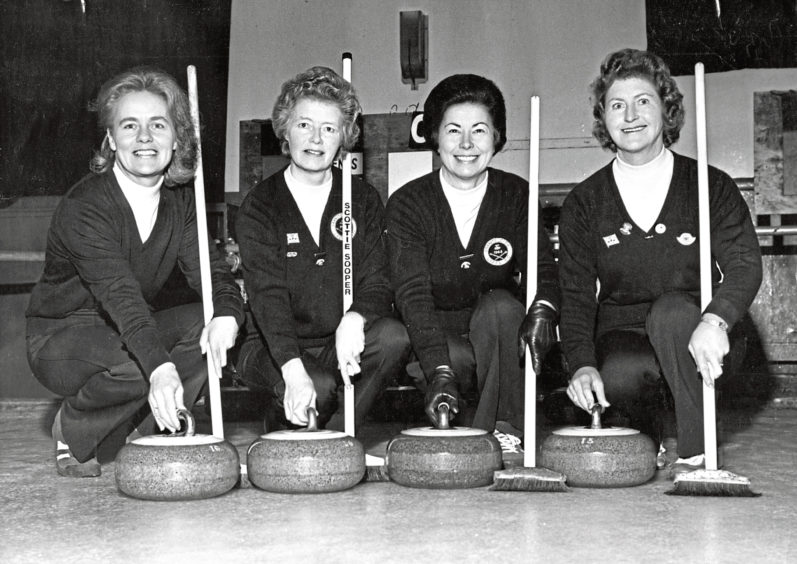 1979: May Gray's rink from the Granite City Ladies' Curling Club became the first Aberdeen team to reach the final of the Scottish championships at Lockerbie at the weekend.