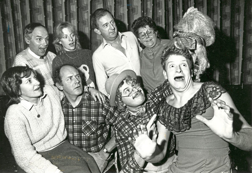 1987: The wild west is coming to Aberdeen. The city's Lyric Musical Society is staging Calamity Jane at His Majesty's Theatre in March - the first time the musical has been presented at the theatre. The cast of 70 has already started rehearsals, with Anne Gordon and Andrew Begg starring as Calamity Jane and Wild Bill