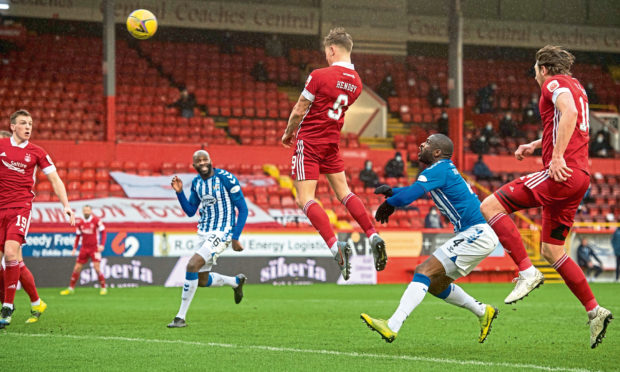 Callum Hendry is the only Aberdeen player to score in the last seven games the team has played.