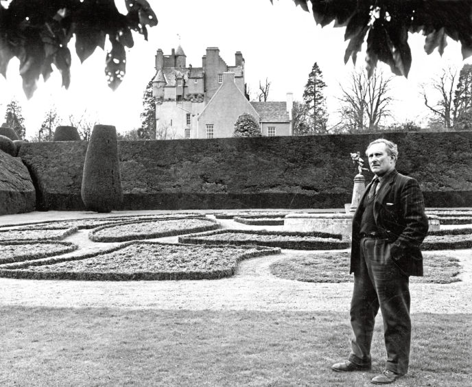 1978: Mr Douglas MacDonald. head gardener at Crathes Castle, Kincardine, for more than 40 years, has been awarded the B.E.M. Mr MacDonald was born at Midmar and attended school at Cluny. He saw war service in the Gordon Highlanders and later the Seaforth Highlanders. Mr MacDonald (60) and his wife Bella, have one son.