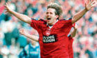 Billy Dodds in his Aberdeen days.