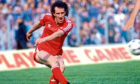 Billy Stark playing for Aberdeen in the 1986 Scottish Cup final.