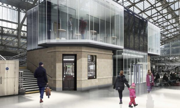Artist impression of the new Aberdeen Station.