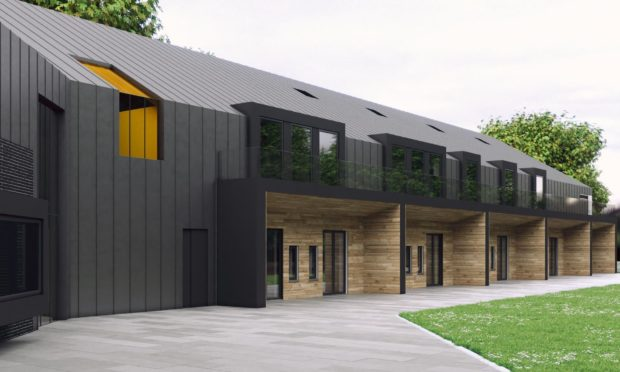 3D images of Charlie House's specialist support centre, which Wood has pledged £75,000 towards the therapeutic play area.