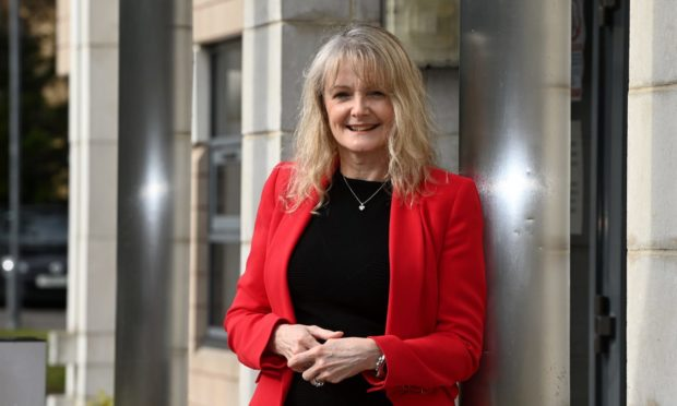 Susan Webb, director of public health at NHS Grampian.