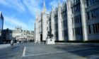 Aberdeen City Council HQ, Marischal College in Broad Street.