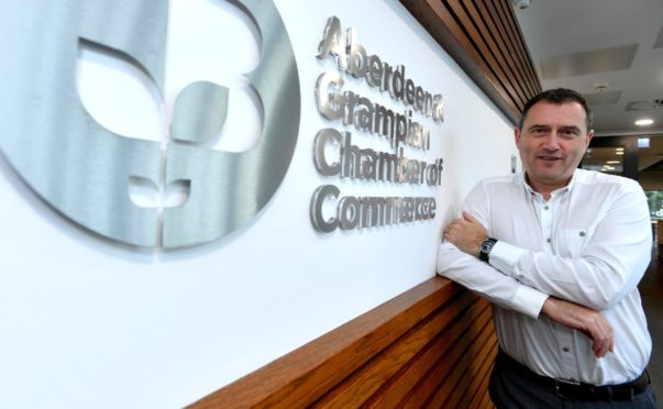 Russell Borthwick, chief executive of Aberdeen and Grampian Chamber Of Commerce.