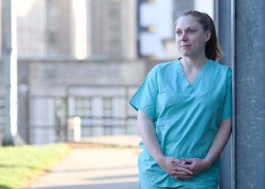 Vhairi Bateman was among the first medics to deal with Covid-19 cases.