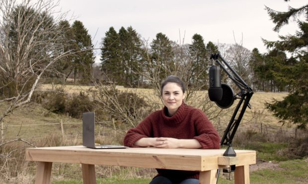 Fiona Murray, founder of the Sustainable Scotland At Work podcast