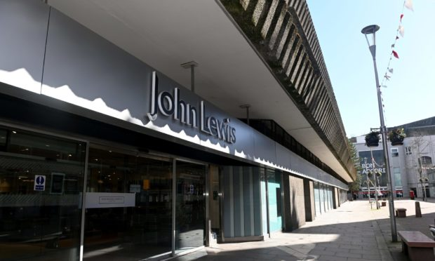 John Lewis has announced plans to permanently close its Aberdeen store.