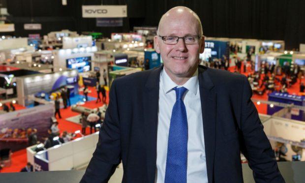 Neil Gordon, chief executive of Subsea UK, Aberdeen.