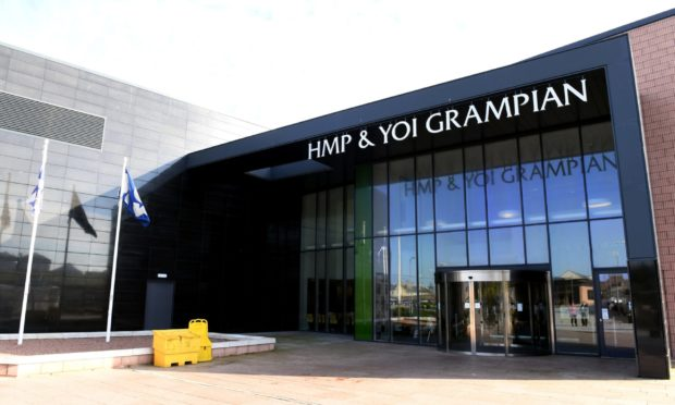 HMP and YOI Grampian in Peterhead. Picture by Kami Thomson