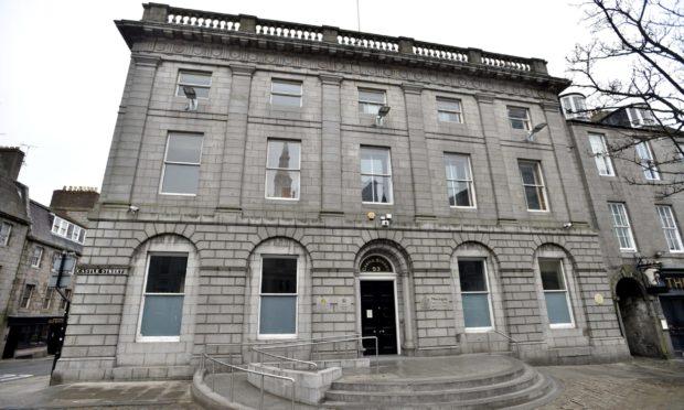 The High Court in Aberdeen.