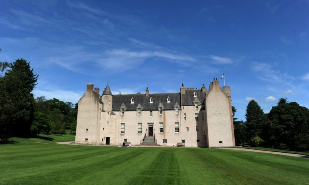 Drum Castle, Aberdeenshire.    Picture by KENNY ELRICK       03/08/2012   .
