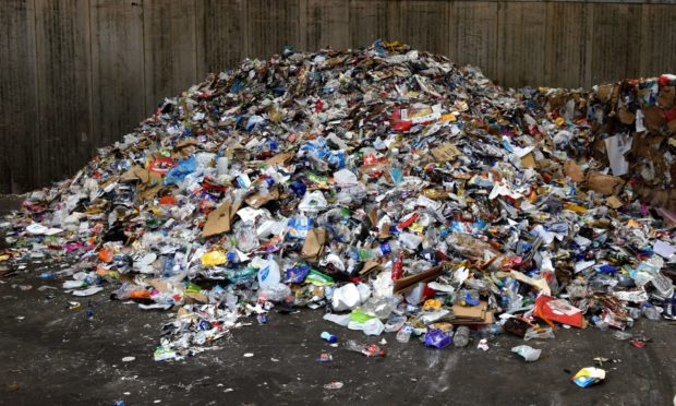 Vehicles allowed into household waste recyling centres in Aberdeenshire is changing from next month.