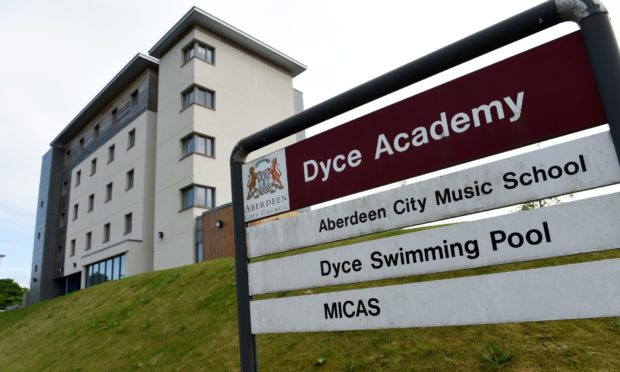 Dyce Academy is one of the schools to benefit from donated technology from Asda.